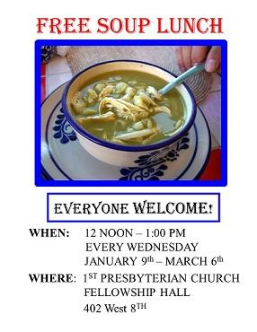 Free Soup Lunch